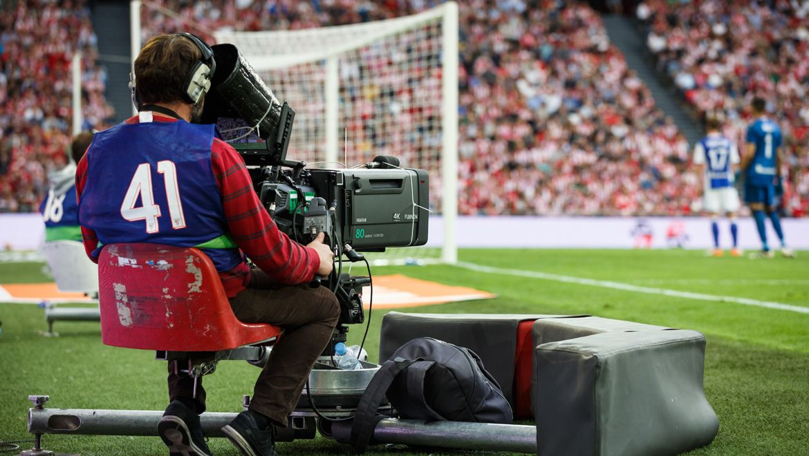 Augmented reality for sports broadcasting