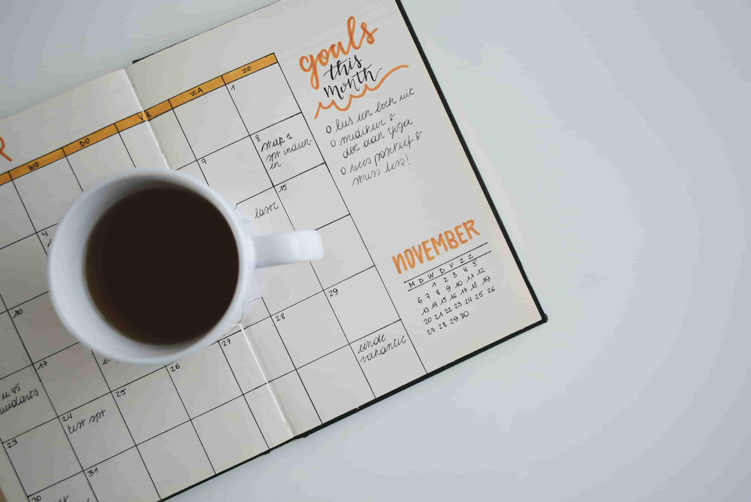 Manage your time and set priorities