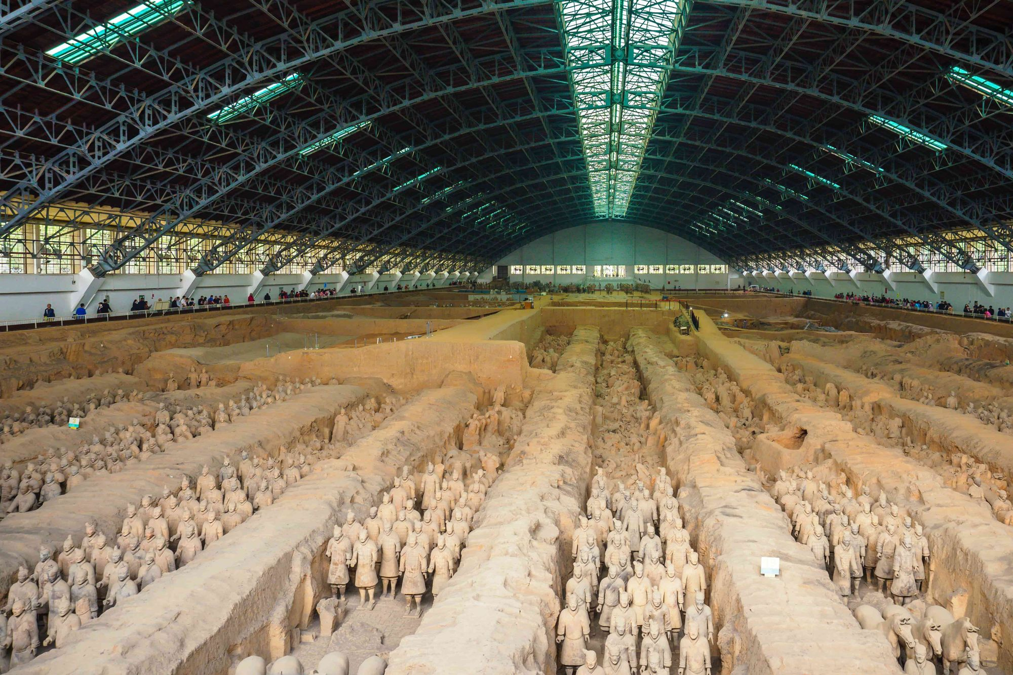 The tomb complex of the Terracotta Army.