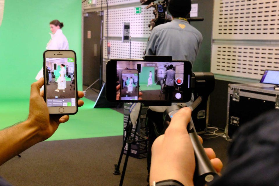 A virtual fashion show held by London College of Fashion's Innovation Agency (FIA).
